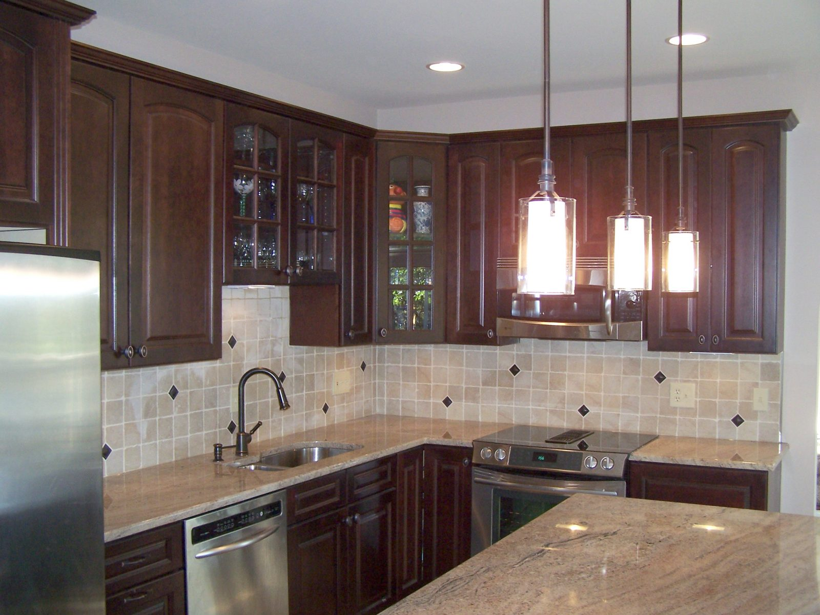 Cherry Kitchen Dalco Home Remodeling